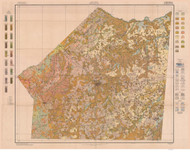 Union County Soils Map, 1914 North Carolina - Old Map Reprint