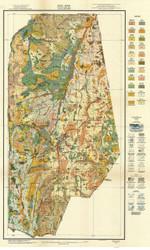 Vance County Soils Map, 1918 North Carolina - Old Map Reprint