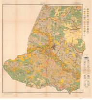 Wayne County Soils Map, 1916 North Carolina - Old Map Reprint
