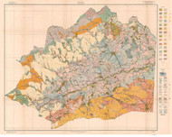 Wilkes County Soils Map, 1918 North Carolina - Old Map Reprint