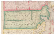 Kent County Rhode Island 1855 - Old Map Custom Print