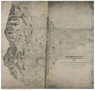 Culpepper County Virginia 1864 - Old Map Reprint