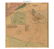 Absecon Village, New Jersey 1872 Old Town Map Custom Print - Atlantic Co.