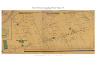 Risleyville, Pleasantville, and Mount Pleasant Villages - Egg Harbor Township, New Jersey 1872 Old Town Map Custom Print - Atlantic Co.