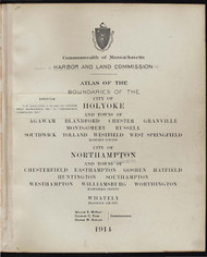 3 - Holyoke, Etc., ca. 1900 - Massachusetts Harbor & Land Commission Boundary Atlas Digital Files