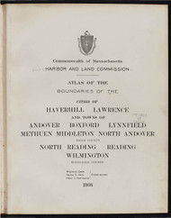 12 - Haverhill, Etc., ca. 1900 - Massachusetts Harbor & Land Commission Boundary Atlas Digital Files