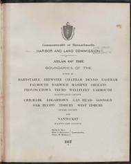 30 - Barnstable, Etc., ca. 1900 - Massachusetts Harbor & Land Commission Boundary Atlas Digital Files