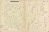 Cambridge Ward 1 Harvard Plate 12, 1886 - Old Street Map Reprint -Cambridge 1886 Atlas