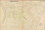 Cambridge Ward 1 Plate 3, 1886 - Old Street Map Reprint -Cambridge 1886 Atlas