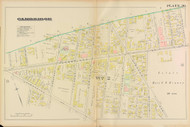 Cambridge Ward 2 Cambridge St Plate 20, 1886 - Old Street Map Reprint -Cambridge 1886 Atlas