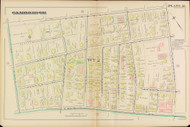 Cambridge Ward 2 Plate 18, 1886 - Old Street Map Reprint -Cambridge 1886 Atlas