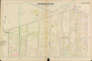 Cambridge Ward 2 Plate 19, 1886 - Old Street Map Reprint -Cambridge 1886 Atlas