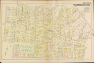 Cambridge Ward 2 Plate 21, 1886 - Old Street Map Reprint -Cambridge 1886 Atlas
