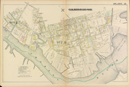 Cambridge Ward 4 Plate 15, 1886 - Old Street Map Reprint -Cambridge 1886 Atlas