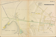 Cambridge Ward 5 Concord Ave Plate 6, 1886 - Old Street Map Reprint -Cambridge 1886 Atlas