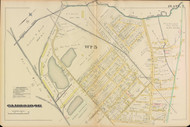 Cambridge Ward 5 Plate 7, 1886 - Old Street Map Reprint -Cambridge 1886 Atlas