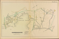 Cambridge Ward 6 Fresh Pond Plate 27, 1886 - Old Street Map Reprint -Cambridge 1886 Atlas