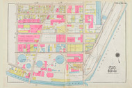 Cambridge Ward 1 Gas Light Co Plate 10, 1930 - Old Street Map Reprint -Cambridge 1930 Atlas