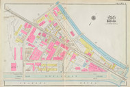 Cambridge Ward 2 Kendall Square Plate 1, 1930 - Old Street Map Reprint -Cambridge 1930 Atlas