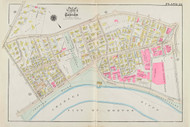 Cambridge Ward 8 Plate 22, 1930 - Old Street Map Reprint -Cambridge 1930 Atlas