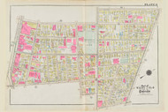 Cambridge Wards  2, 3 & 4 Broadway Park Plate 8, 1930 - Old Street Map Reprint -Cambridge 1930 Atlas