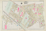 Cambridge Wards 10 & 11 Rindge Field Plate 28, 1930 - Old Street Map Reprint -Cambridge 1930 Atlas