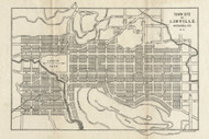 Linville No Date  - Old Map Reprint - North Carolina  Cities