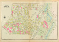 Plate 2, Aspinwall Avenue, 1927 - Old Street Map Reprint - Muddy River, Linden Park, Brookline Playground, YMCA, Freight Yard -Brookline 1927 Atlas