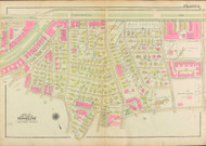 Plate 6, Babcock Street, 1927 - Old Street Map Reprint - Commonwealth Avenue, Freeman Square, Naples Road, Dexter School -Brookline 1927 Atlas