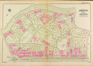 Plate 9, Sutherland Road, 1927 - Old Street Map Reprint - Cleveland Circle, Commonwealth Aveue, Corey Road, Beacon Street, Chestnut Hill Avenue -Brookline 1927 Atlas