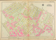 Plate 13, Pleasant Street, 1927 - Old Street Map Reprint - Winthrop Square, Edward Devotion School & Playground, Town Yard, Dwight Square -Brookline 1927 Atlas