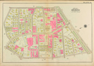 Plate 14, Harvard Street, 1927 - Old Street Map Reprint - Cabot School, Coolidge Corner, St Paul Street, Park Street -Brookline 1927 Atlas