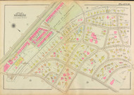 Plate 18, Clinton Road, 1927 - Old Street Map Reprint - Beacon Street Playground, Runkle School, Brookline Branch Boston and Albany Rail Road,  -Brookline 1927 Atlas