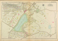 Plate 19, Boylston Street, 1927 - Old Street Map Reprint - Reservoir Park, Clinton Road, Clark Road, Buckminster Road -Brookline 1927 Atlas