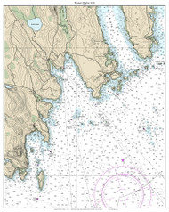 Prospect Harbor 2014 - Maine Harbors Custom Chart