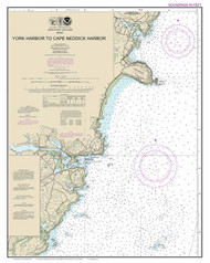 York Harbor to Cape Neddick Harbor 2014 - Maine Harbors Custom Chart