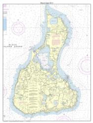 Block Island 3:4 2014 - Rhode Island Harbors Custom Chart