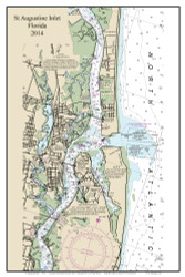 Saugatuck River 2014 - Florida Harbors Custom Chart