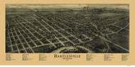 Bartlesville, Oklahoma 1917 Bird's Eye View