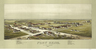 Fort Reno, Oklahoma 1891 Bird's Eye View