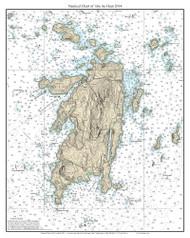 Isle Au Haut 2014 - Maine Harbors Custom Chart