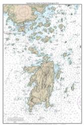 Isle Au Haut & Stonington 2014 - Maine Harbors Custom Chart