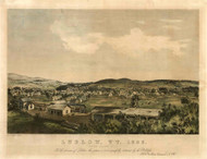 Ludlow, Vermont 1859 Bird's Eye View