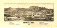 Mayville, Colorado 1882 Bird's Eye View - LC