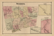 Neversink, New York 1875 - Old Town Map Reprint - Sullivan Co. Atlas