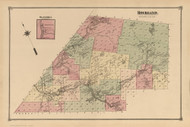 Rockland, New York 1875 - Old Town Map Reprint - Sullivan Co. Atlas