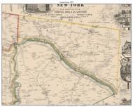 Amsterdam, New York 1853 Old Town Map Custom Print - Montgomery Co.
