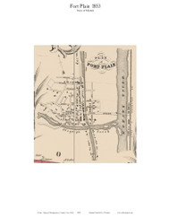 Fort Plain, New York 1853 Old Town Map Custom Print - Montgomery Co.