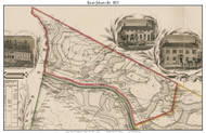 Saint Johnsville, New York 1853 Old Town Map Custom Print - Montgomery Co.