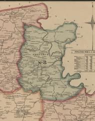 Precinct 8, Claysville, Smitsonville - Harrison County, Kentucky 1877 Old Town Map Custom Print - Harrison Co.